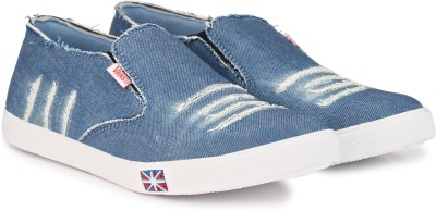 Shoe Day Canvas Shoes, Casuals, Corporate Casuals, Loafers, Sneakers(Blue)