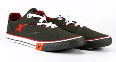 Sparx Casual Shoes(Olive, Red)