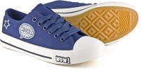 DeVEE Ohh WOW! Navy Blue Canvas Shoes(Navy, Blue)