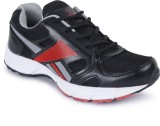Sonaxo Men Running Shoes (Black, Red)