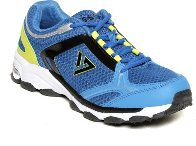 SEVEN Atum Nautical Blue Lime Punch Running Shoes