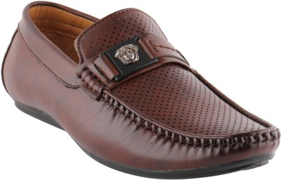 Smart wood 3502 Brown Loafers Shoe