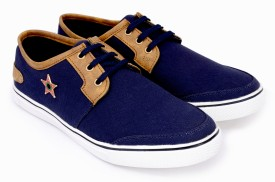 Bellson Best Look Canvas Shoes(Navy)