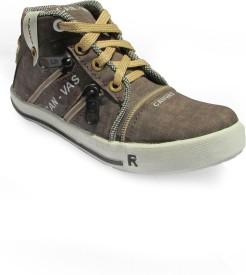 Cutie & Brat Brown Canvas Shoes