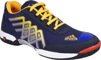 Real Blue Aa047 Walking Shoes