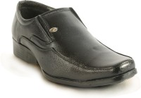 Calaso 041 Black Slip On Shoes