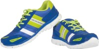 Ros 1122 RBlue PGreen Walking Shoes