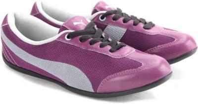 Puma Karlie DP Sneakers(Grey, Purple)