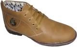 Activa High Class Casual Shoes (Tan)