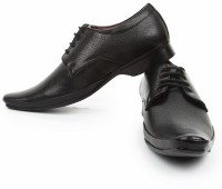 Bacca Bucci Officious Black Derby Lace Up Shoes best price on Flipkart @ Rs. 924