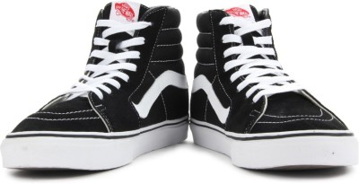 VANS Sk8-Hi Men Sneakers(Black)