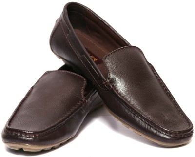 Adler Brown Genuine Leather Classy Loafers