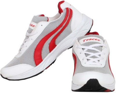 Tracer White Running Shoes