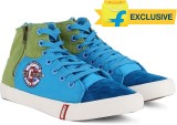 Lee Cooper Men Mid Ankle Canvas Sneakers...