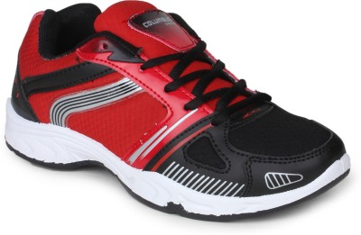 Columbus Tab-124 Running Shoes(Black, Red)