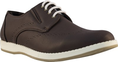 Tanny Shoes Synthetic Leather Brown Casuals