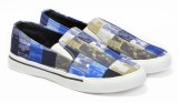 Boysons mens printed Canvas Shoes (Multi...