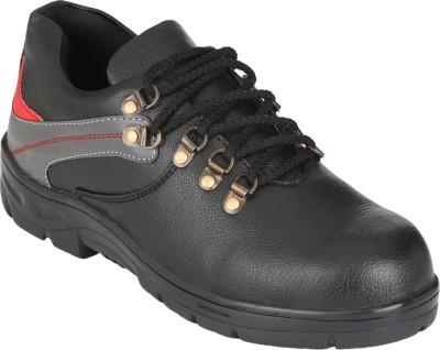 Udenchi Leather Safety Shoes Lace Up