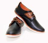Daleun Da1012 Casual Shoes (Black)