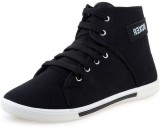 Gusto Canvas Shoes (Black, White)