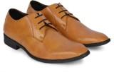 DaMochi Bogota Lace Up Shoes (Camel)