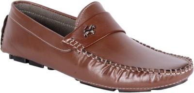 Retry Mens Black office Purpose Shoes Slip On