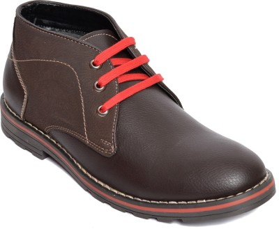 Kamil Red Casual Shoes
