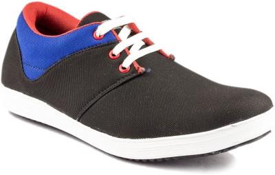 Big Wing Black Canvas Shoes