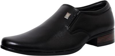 Zoom Zoom Men's Pure Leather Formal Shoes D-1822-Black-7 Slip On