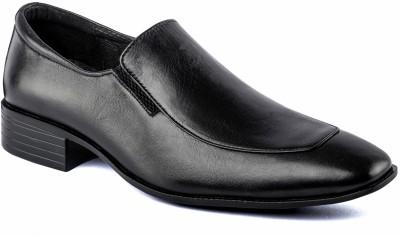 Nudo Formal Black Slip On Shoes