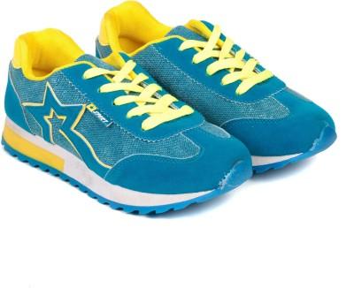 TEN Blue Fabric Sports Shoes