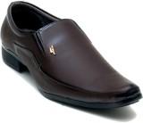 Oora Brown Kseries Pum Slip On Shoes (Br...