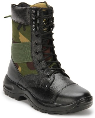 Benera Jumbo Camouflage High Ankle Boot Boots