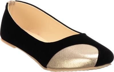 Calliebrown Callie brown trendy stylish goden black ballerinas Bellies