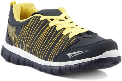 DK Derby Kohinoor Black Sports Walking Shoes