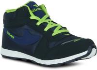 Fab Fashion Hi Neck Navy Blue Sport Training Gym Shoes