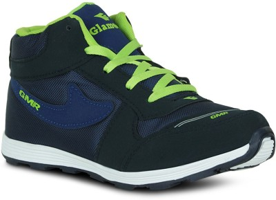 Fab Fashion Hi-Neck Navy Blue Sport Training & Gym Shoes