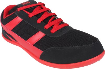 Histeria Star Black & Red Running Shoes