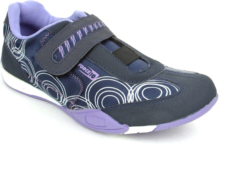 Force 10 By Liberty SENNA-VOILET Running Shoes(Blue)