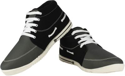 Vivaan Footwear Grey-153 Sneakers