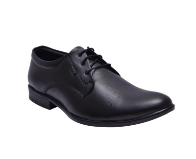 Bxxy Genuine Leather Derby Lace Up Shoes