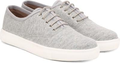 Carlton London Miss CL Canvas Shoes(Grey)