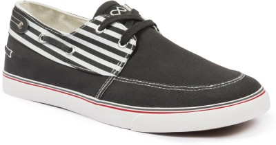 Pure Play BoatStripe-Grey Sneakers