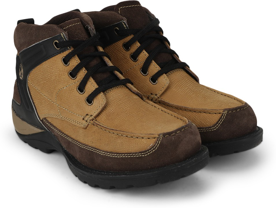 Woodland Outdoor Shoes(Tan)