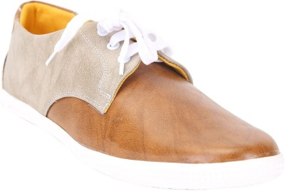 Quarks Dual Color Derby Casual Shoes