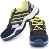 Acto Yellow & Blue Men Running Shoes Run...