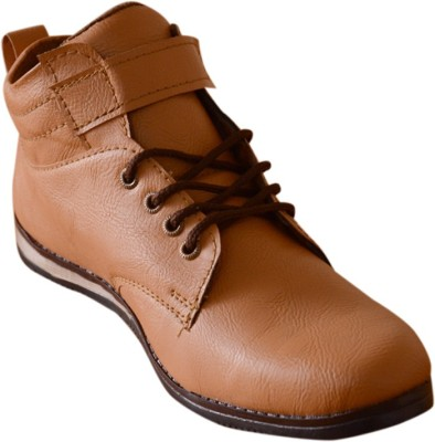 3 Wolves Tan Vell Boots