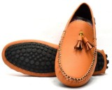 Indian Style Loafers (Tan)