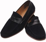Styloindia Loafers (Black)