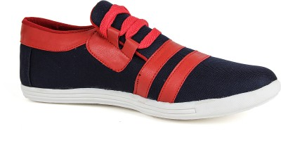 Runner Chief Blue-Red Sneakers
